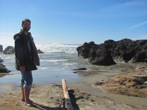 a walk along the Oregon Coastline