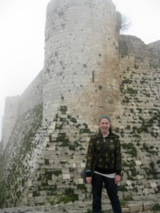 Me at the Krak Des Chevaliers in Syria