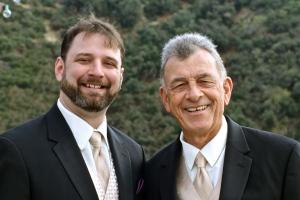 Luke and his father John