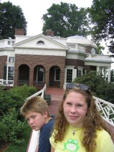 teenage attitude at Jefferson's home