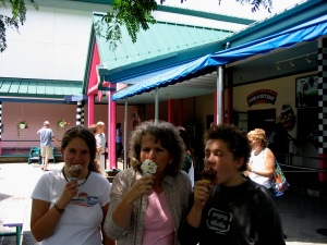 Ben and Jerry's tour in Vermont 2005